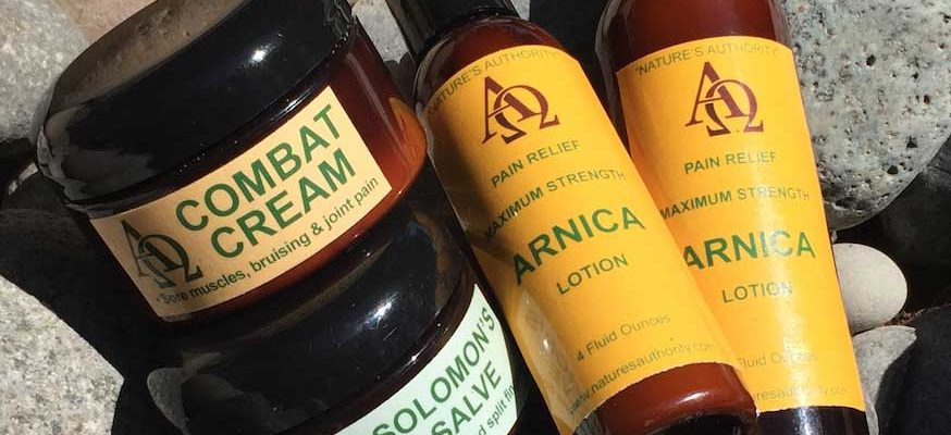 Arnica Products by Nature's Authority
